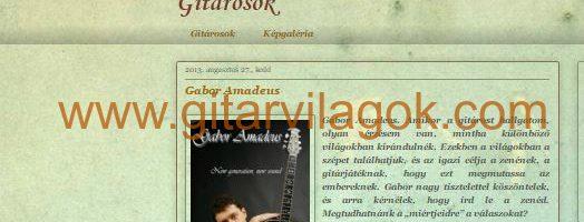 Gitarvilagok.com interjú